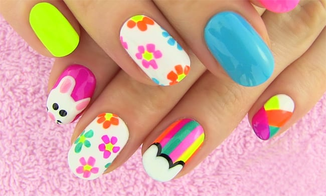beautiful-and-colorful-diy-nail-art-designs-2017