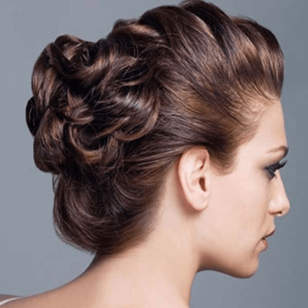 Wondrous Hairstyles With Buns For Party Best Hairstyles 2017 Short Hairstyles For Black Women Fulllsitofus