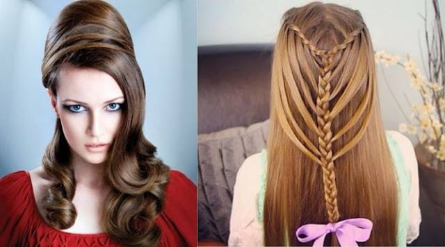 cool-causal-long-hairstyles-for-christmas-parties