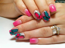 cute-diy-butterfly-nail-art-designs-for-new-year