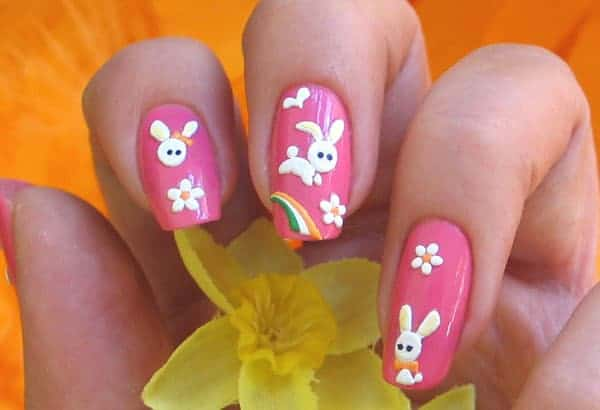 Fantastic Nail Art Designs for Easter 2017 - A Showcase Of Cute Easter Nail Art Designs - SheIdeas
