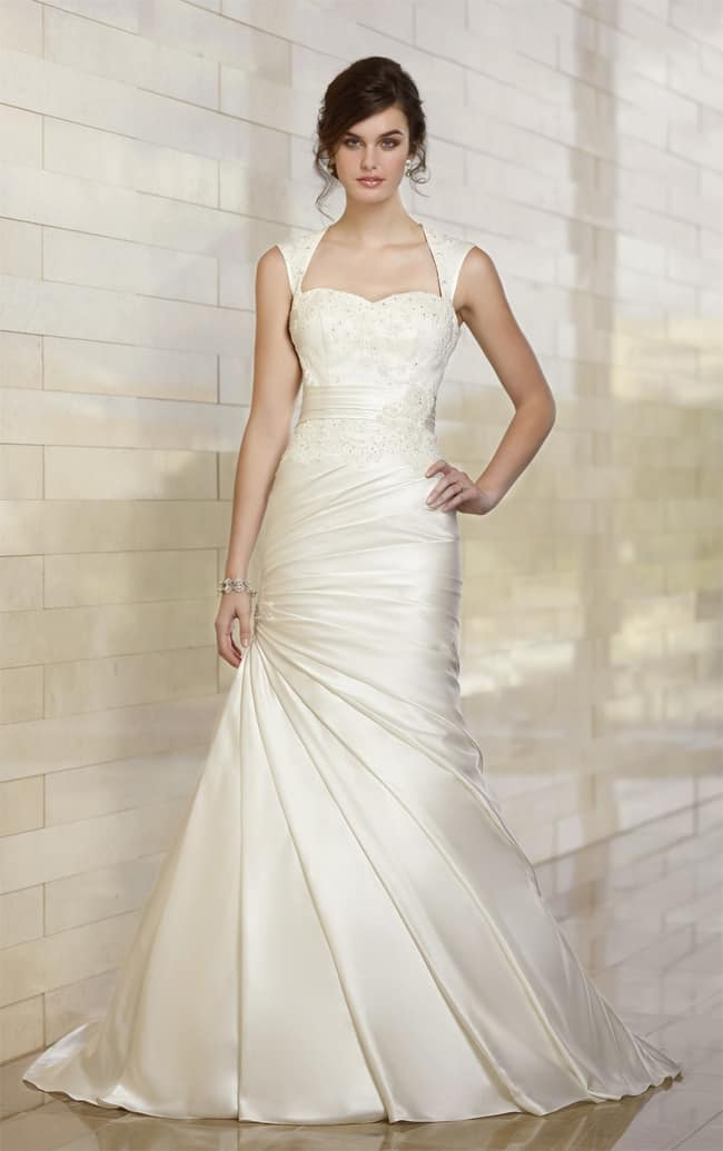 great-a-line-asymmetrical-wedding-dresses-pictures