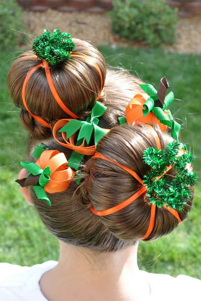 latest-halloween-pumpkins-hairstyles-for-kids