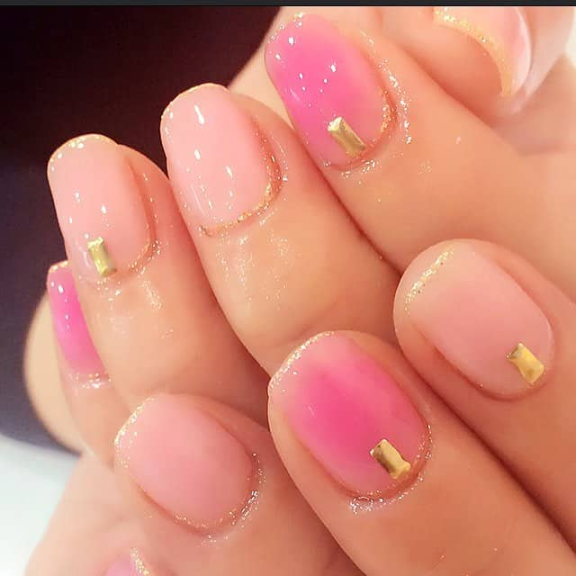 15 cute round nail designs for inspiration sheideas stunning round pink gel nails ideas for women prinsesfo Images