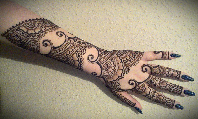 Mehndi For Arm : Best mehndi designs pictures sheideas