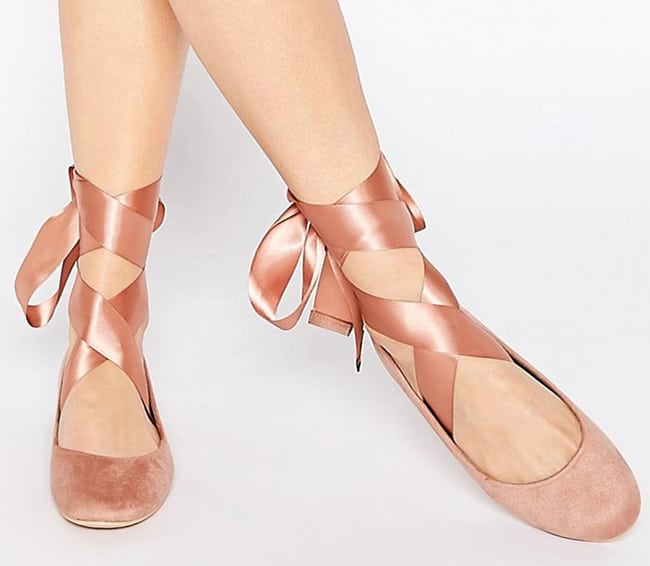 ballerina-chic-ribbon-tie-ballet-flat-for-wedding