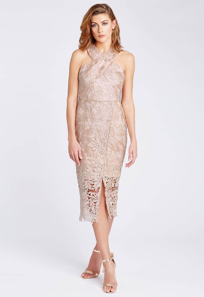 best-front-lace-midi-dress-for-wedding-guest