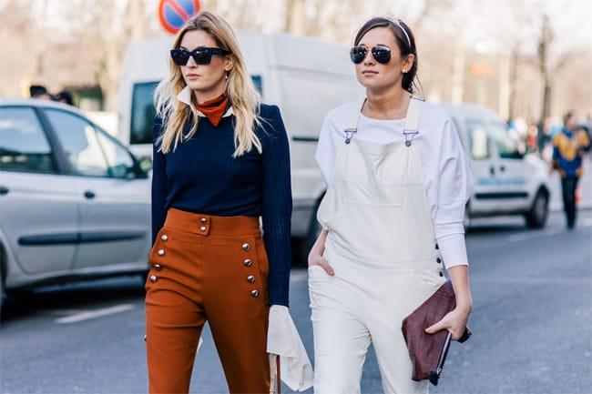 camille-charriere-and-danielle-bernstein-winter-sunglasses