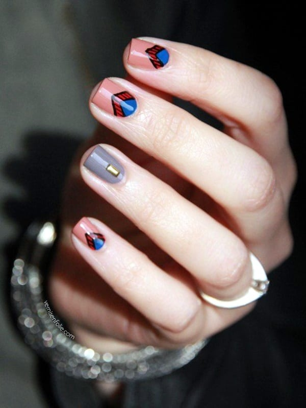 colorful-but-sober-nail-designs-for-office-girls