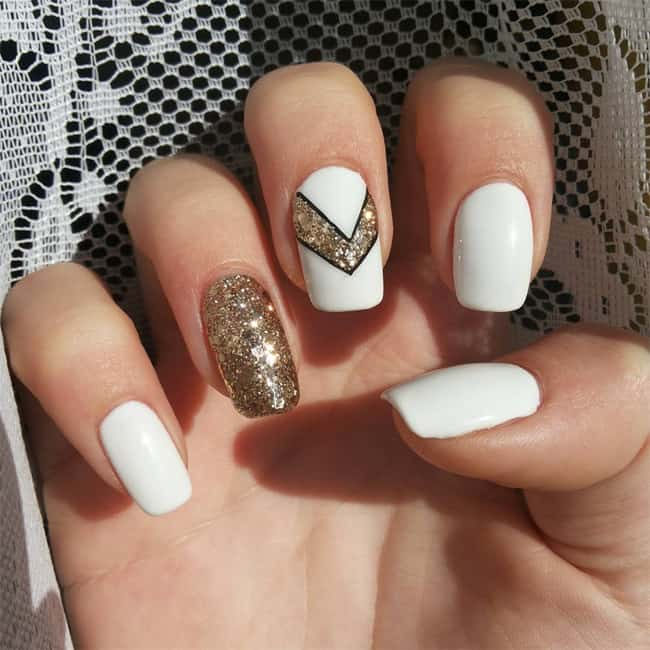 20 Best Images of White Nail Designs 2018 – SheIdeas