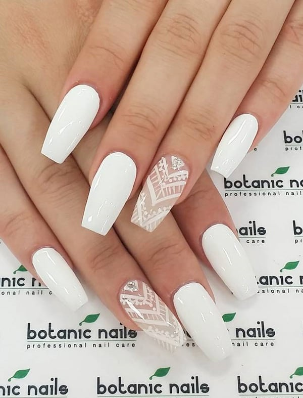 20 best images of white nail designs 2017 sheideas easy white nail polish ideas for long nails prinsesfo Gallery