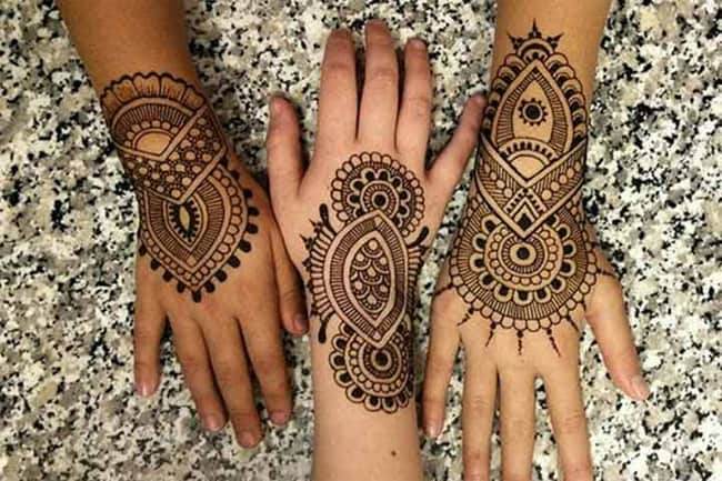 Exclusive Bangle Henna Art Pictures