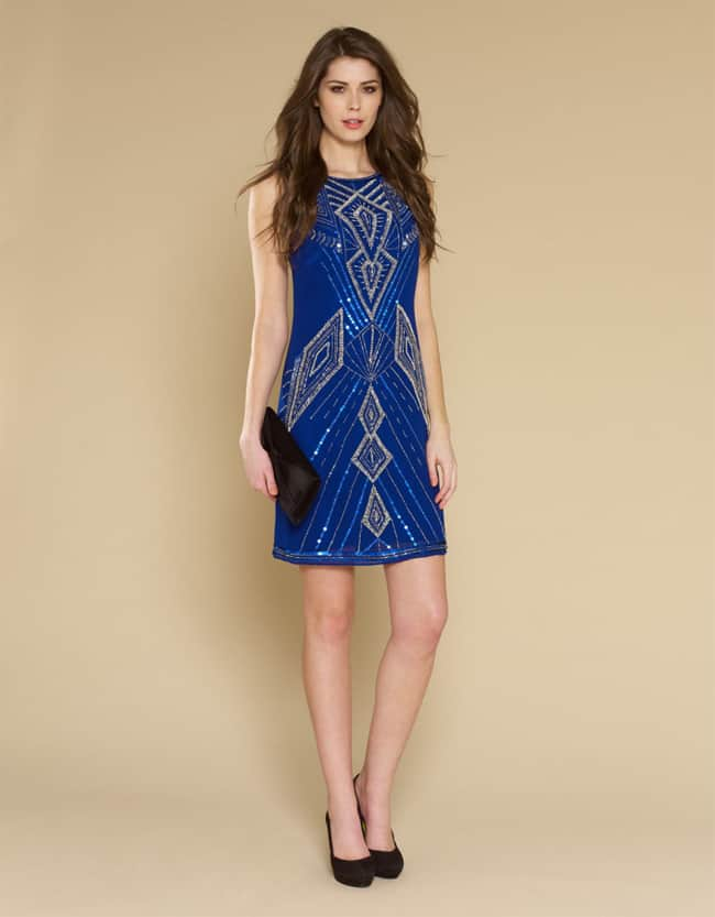 25 elegant wedding guest dresses collection sheideas for Blue dress for a wedding guest