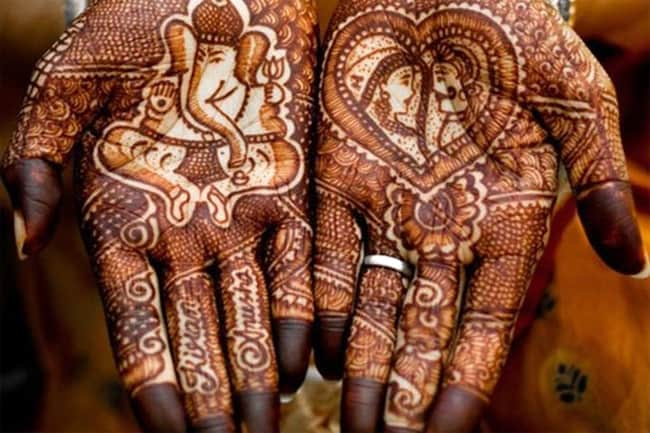 Fantastic Gujarati Bridal Henna Designs Pictures