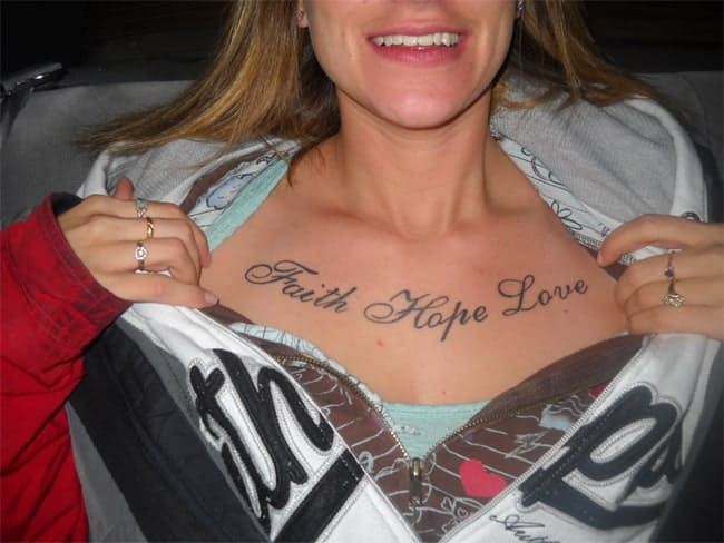 good-faith-hope-love-tattoo-art-on-chest-for-women