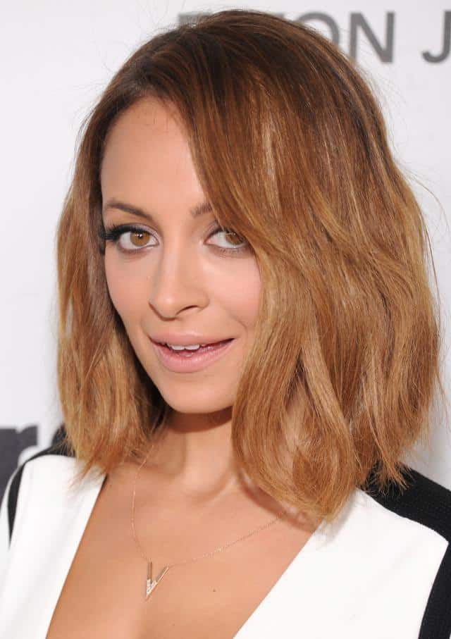 Good Nicole Richie Shag Long Bob Hairstyle Pictures