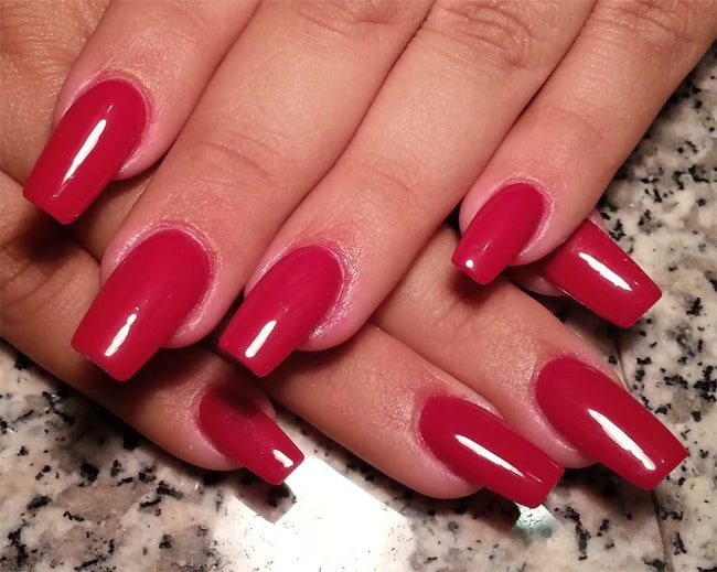 latest-easy-red-nail-design-for-long-nails