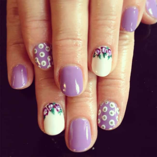 Simple And Beautiful Nail Art Designs Step By Step