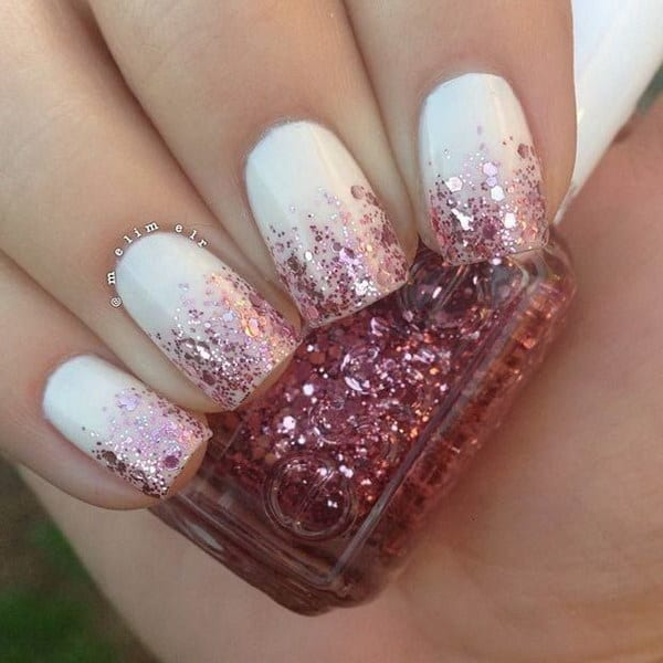 26 Red And Silver Glitter Nail Art Designs Ideas: 20 Best Images Of White Nail Designs 2019