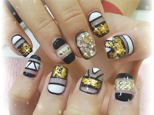 outstanding-women-gelish-nail-designs-for-party