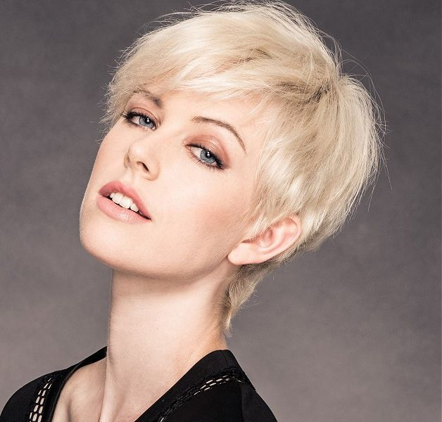 Stylish Short Edgy Hairstyles Pictures For Fine Hair