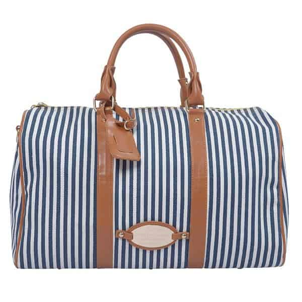 stylish-striped-duffle-beach-bags-for-ladies