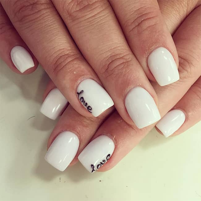 superlative-white-nail-polish-for-short-nails - SheIdeas