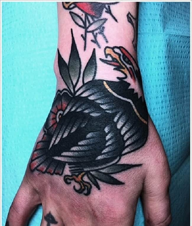 30 Positive Tattoo Ideas For Women That Are Very: 30 Good Eagle Tattoos Designs For Men And Women 2017