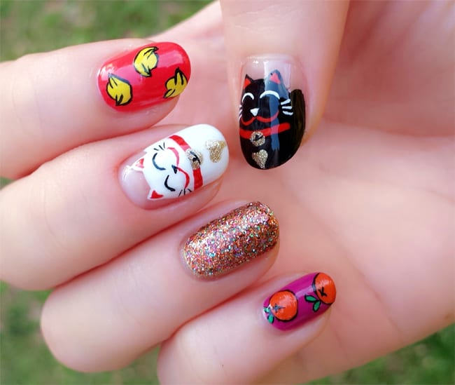 15 with New Year Nail Designs on Watch additionally Gelish Nails moreover Essie Nagellack Trends Der NY Fashion Week in addition 20966719 Nail Art Designs 2017 together with Nail Arts 2017 Designs Sweet Kids.