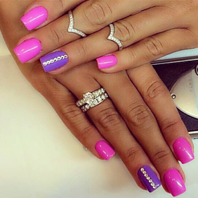 Images Of Nail Polish Designs: 30 Latest Shellac Nail Designs Pictures 2017-2018