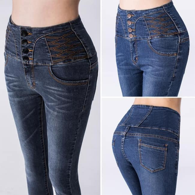cool-ripped-designer-denim-high-waist-jeans