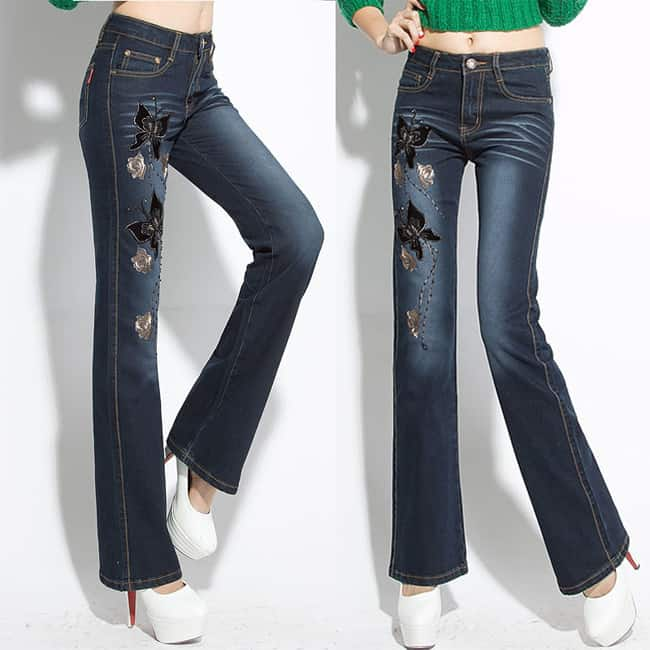 designer-butterfly-embroidery-flares-beading-denim-jeans