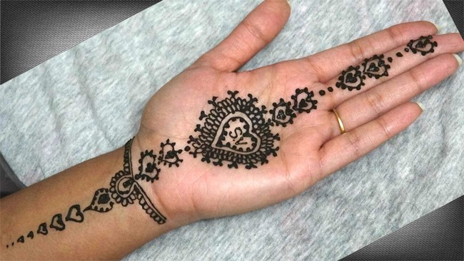 20 Outstanding Heart Mehndi Designs 2019 Sheideas