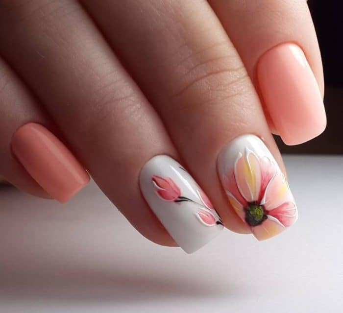 50 Latest Shellac Nail Design Ideas for 2019 [With Pictures