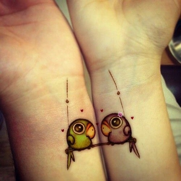 lovely-matching-tattoos-designs-for-women-2017