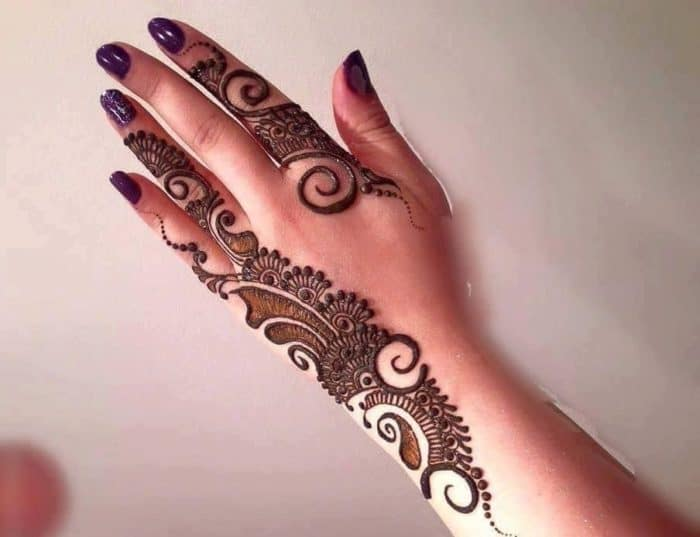 Mehndi Designs Upper Hand : Latest mehndi designs for brides sheideas
