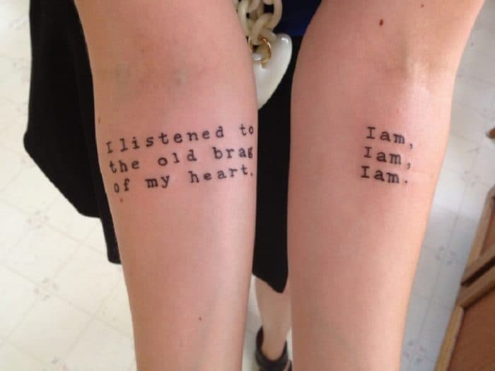 25 Excellent and Best Life Quote Tattoos Ideas 2017 - SheIdeas
