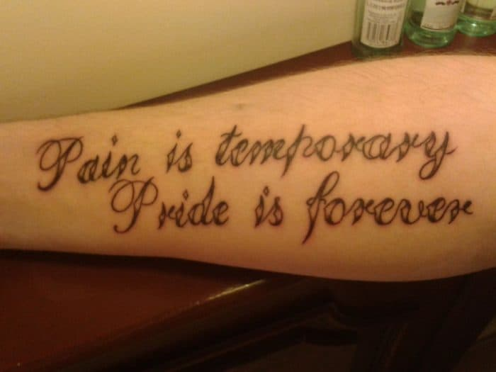 25 excellent and best life quote tattoos ideas 2017 sheideas. Black Bedroom Furniture Sets. Home Design Ideas