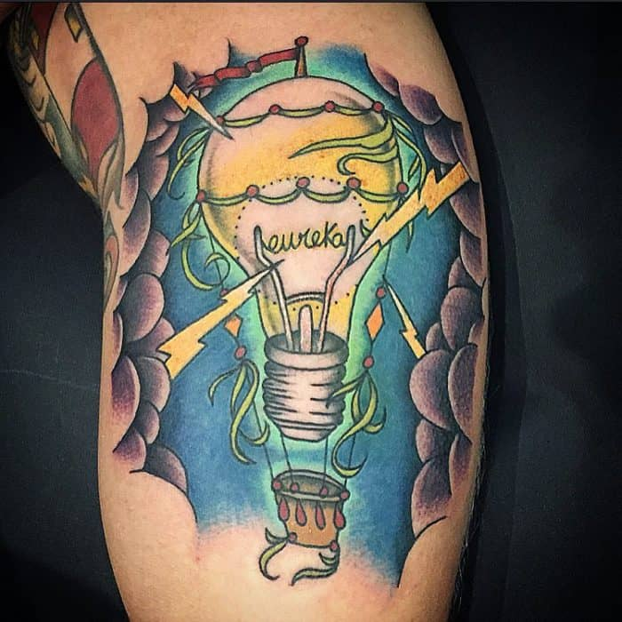 lightning tattoos designs