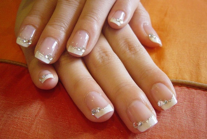 25 fantastic french manicure ideas 2017 sheideas french manicures design for weeding prinsesfo Image collections