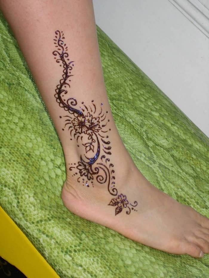 Simple Henna Designs Ankle: 30 Latest Mehndi Designs For Beginners