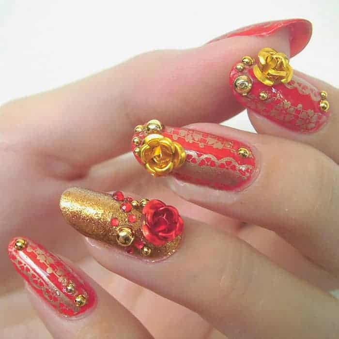 40 latest new nail art designs images 2018 sheideas great christmas nail designs for short nails 2018 prinsesfo Gallery