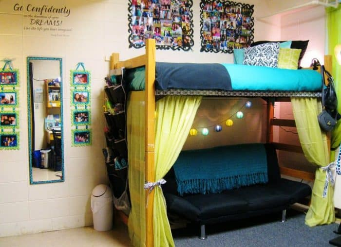 25 Really Cute Dorm Room Ideas for Inspiration  SheIdeas ~ 223856_Really Cute Dorm Room Ideas