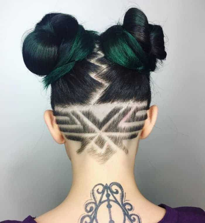 25 cool hair tattoo designs for ladies � sheideas