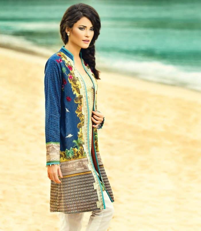 40 Fancy Printed Kurti Designs Images 2018 - SheIdeas