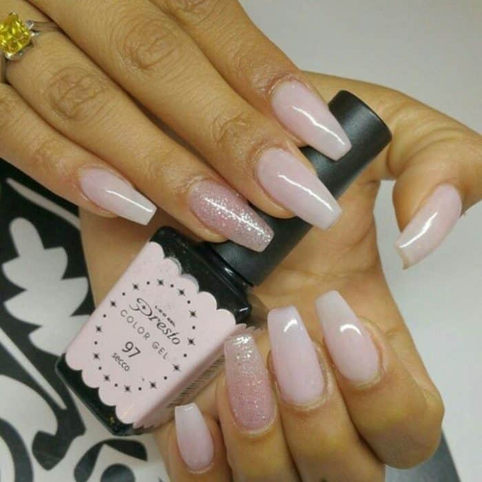 25 Top-Notch Ballerina Shaped Nails Designs – SheIdeas