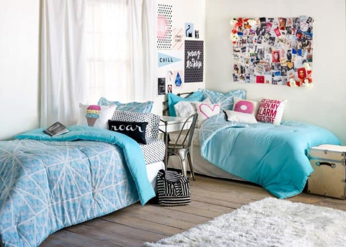 Simple Decorating Ideas To Make Your Room Look Amazing: 25 Really Cute Dorm Room Ideas For Inspiration
