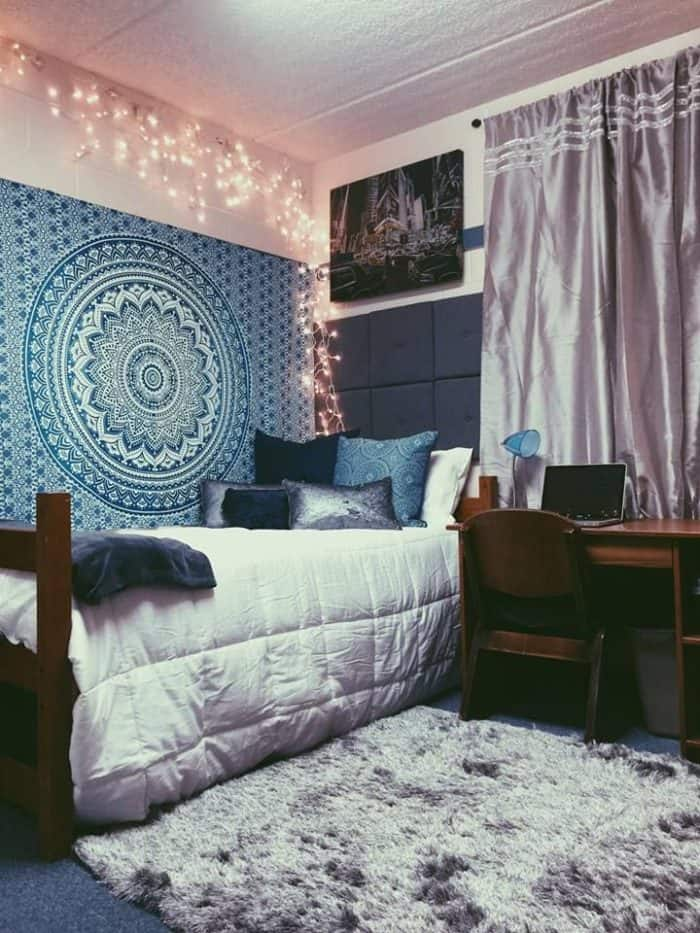 25 really cute dorm room ideas for inspiration sheideas for College bedroom ideas for girls