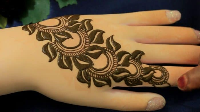 Flower Mehndi Designs For Back Hands : Inspirational henna hand tattoos for women sheideas