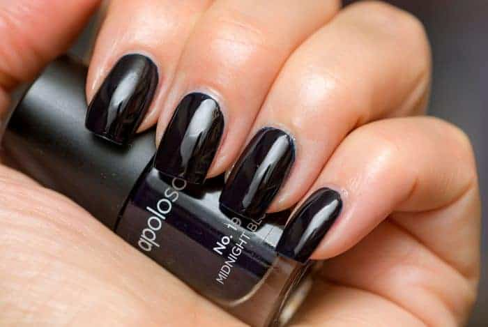 22 Hottest Black Nail Designs Pictures 2017 Sheideas